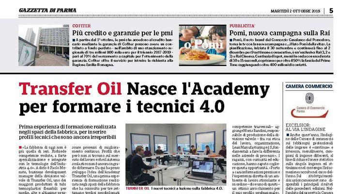 Più credito e garanzie per le pmi - Gazzetta di Parma