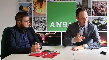 Ansa intervista il Presidente Marco Amelio e il Direttore Marco Barbero