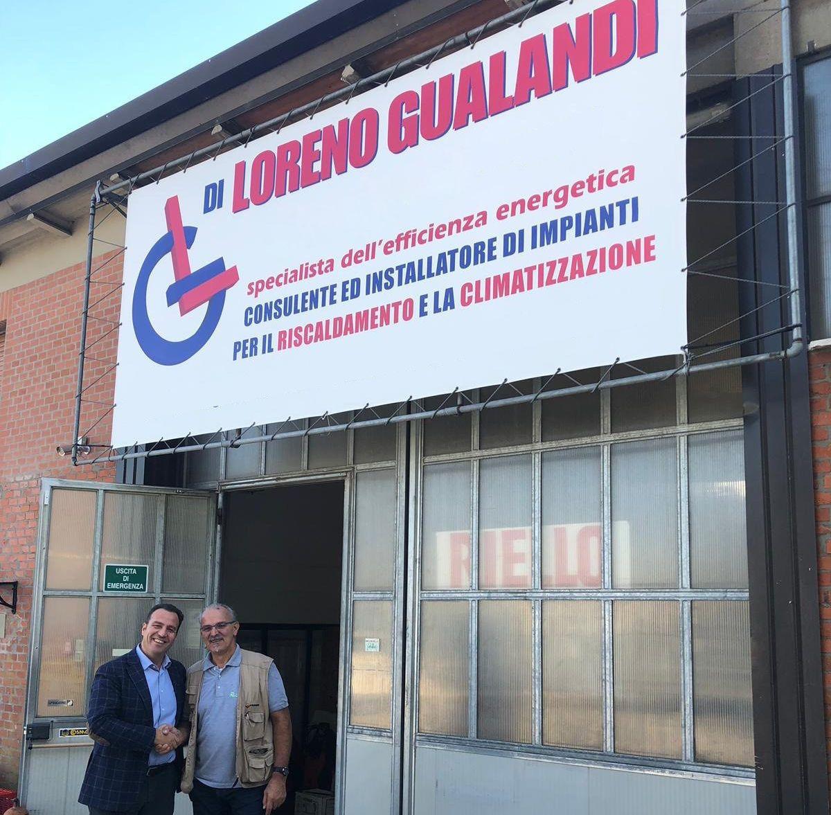 Cillnaku e Loreno Gualandi