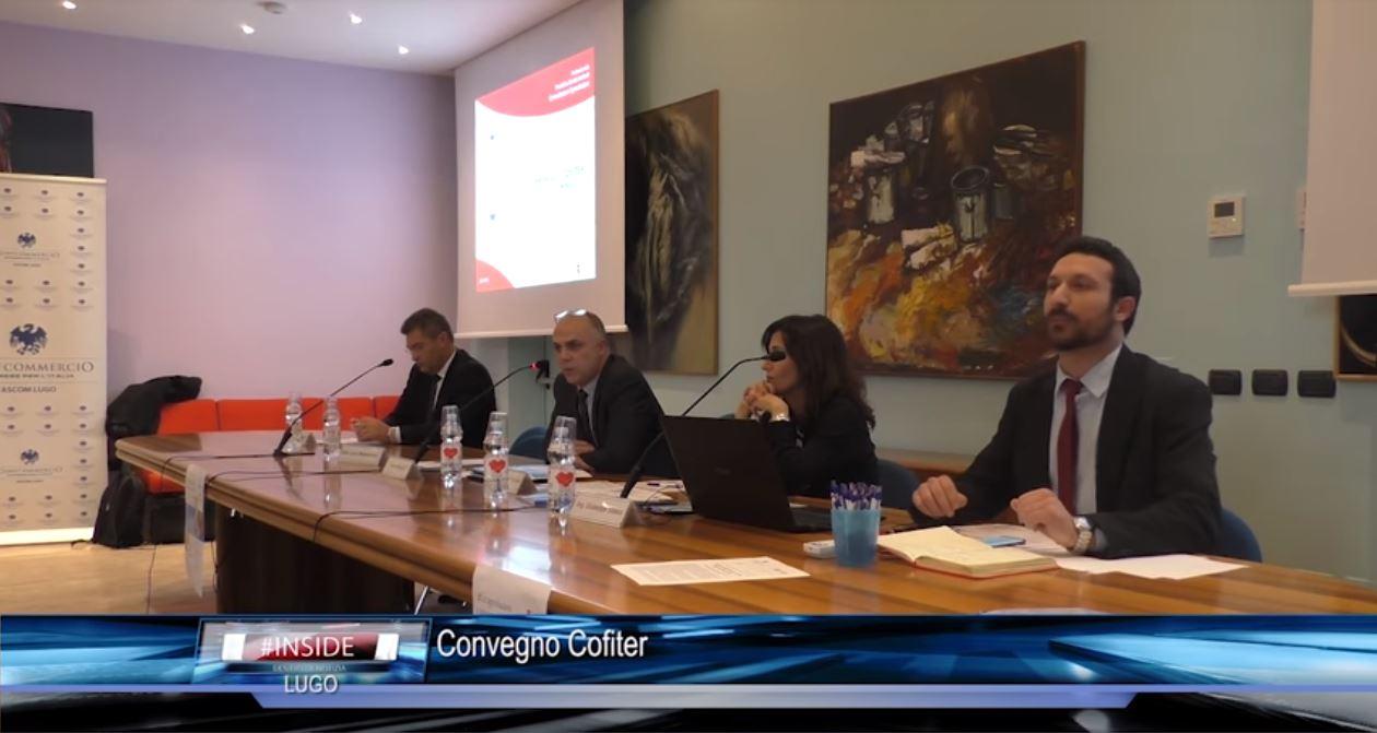 Teleromagna - Convegno Cofiter presso Ascom Lugo