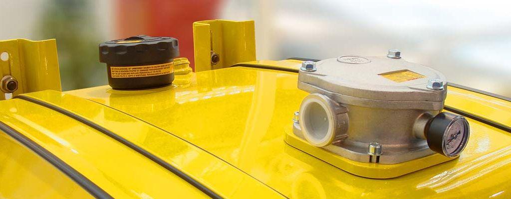 serbatoio giallo