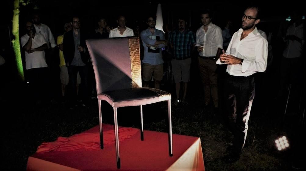 Bochicchio sedia oro