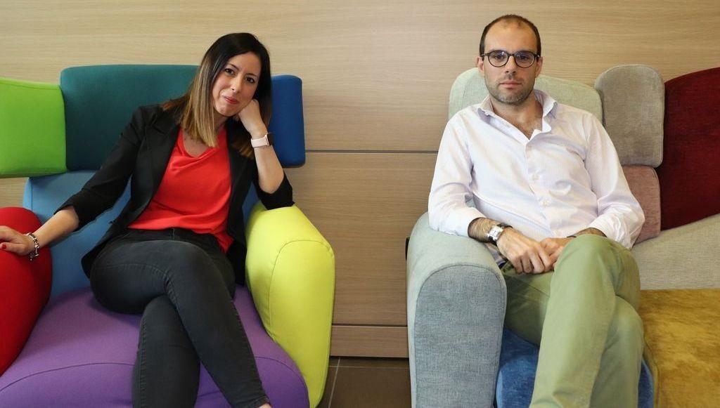 Salvatore Bochicchio e Alessia Quaglio