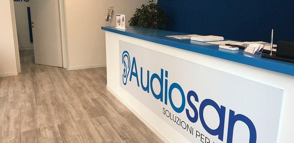 Punto informazioni Audiosan