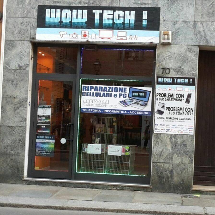 Negozio Wow Tech esterno