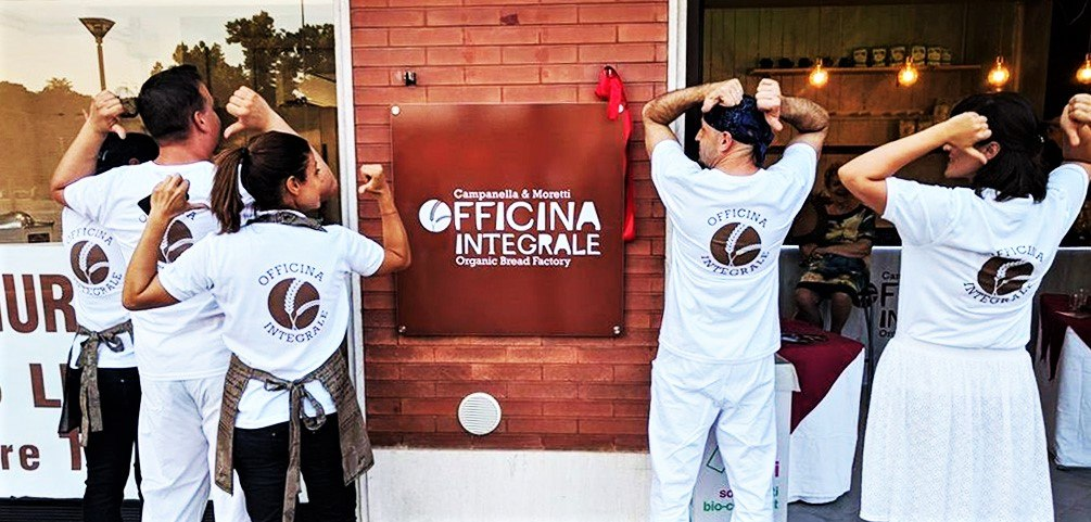 Officina Integrale: Organic Bread Factory