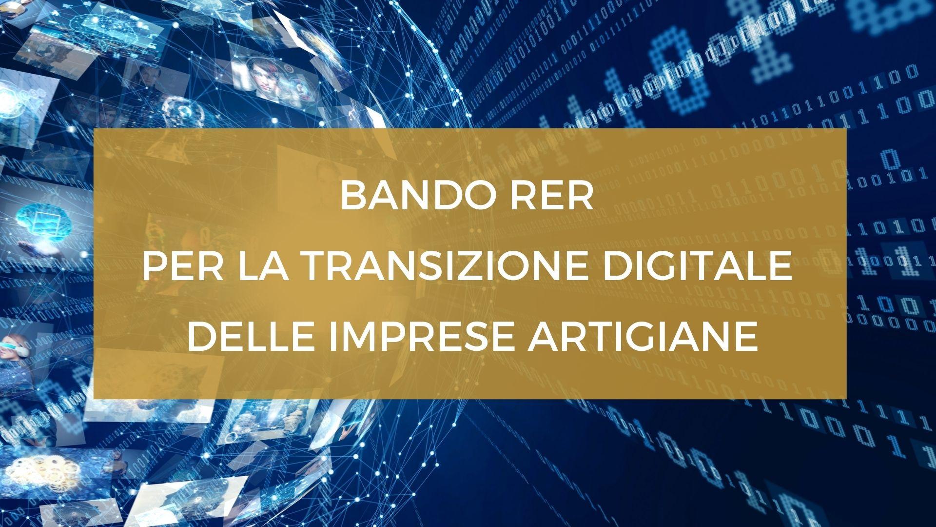 Transizione digitale imp. artigiane